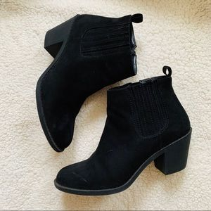 F21 ankle booties